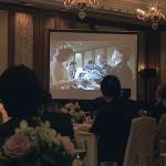 ホテルオークラ東京花束贈呈エンドロール