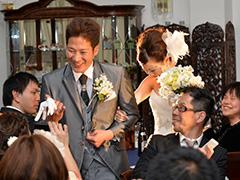 ガーデンハウスセントメリー結婚式の写真サンプル