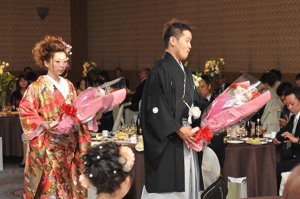 京都全日空ホテル結婚式の写真サンプル