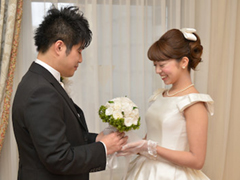ザリッツカールトン大阪結婚式の写真サンプル