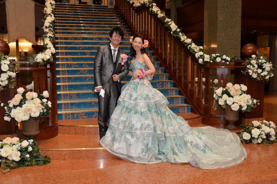 京都ホテルオークラ結婚式の写真サンプル