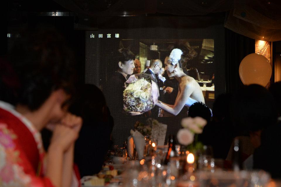 THE SCREEN(ザ・スクリーン)結婚式の写真サンプル